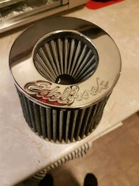 Edelbrock air filter, brand new.