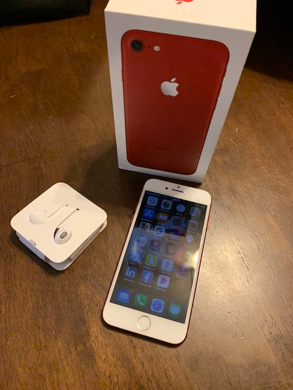IPhone 7 128gb Red 0