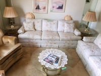 Vintage sofa and matching loveseat $225. Etc. Regina, S4N 2P7