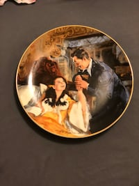 Gone with the wind porcelain plates!!