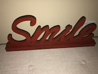 3 large signs smile pray laugh Kingsport, 37660