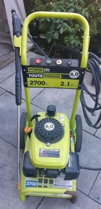 powerit 2700psi 6hp pressure washer works great Pointe-Claire, H9R 3H8