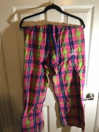 women's pink, green, and black plaid pants Newmarket, L3Y 8H9