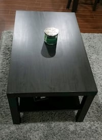 Ikea Lack dark brown coffee table and side table Surrey, V3X 0B9