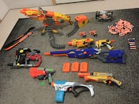 Assorted Nerf Guns  Milton, L9T 2R1