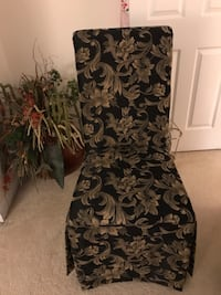 Chairs I have  2 price is for Both from a pet free smoke free home. Charlotte, 28269
