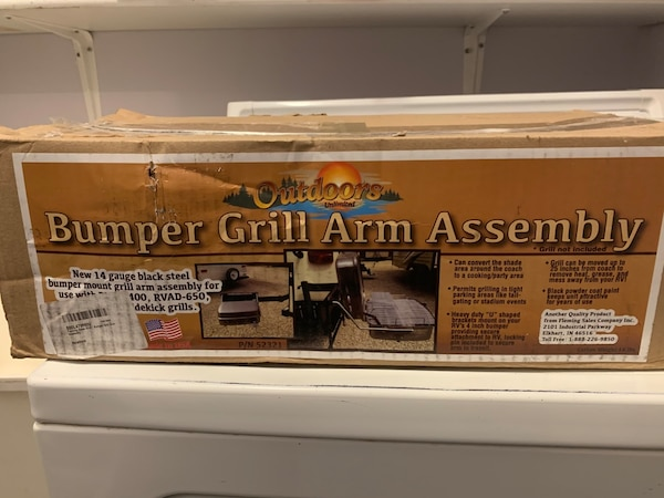 Outdoors unlimited Bumper Grill Arm Assembly - 14 Gauge Steel 27a8e31c-8226-4687-83bd-c7d5ef982bed