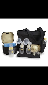 Yellow and white medela breast pump set South Milwaukee, 53172