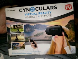 Cynoculars and remote