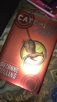Catching Fire Suzzanne Collins book