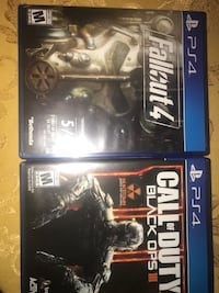 two Sony PS4 game cases Tampa, 33612