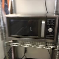 gray and black microwave oven 297 mi