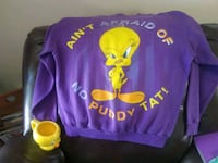 purple and yellow long-sleeved shirt with Tweety m Fond du Lac, 54935