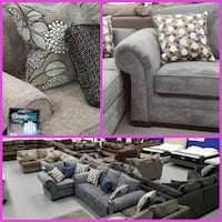 Sofa Love Seats Sets and Sectionals *NEW* $50 Down!