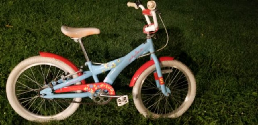 20 inch girls Schwinn Stardust bike 1