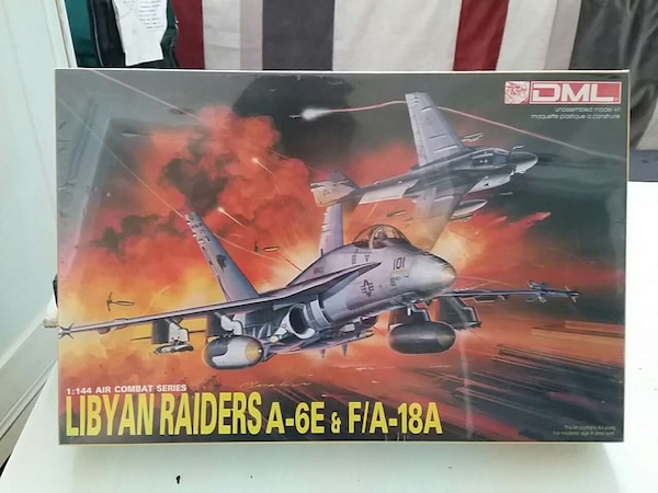 3cab278f3cf Used 1 144 Libyan Raiders A-6E   F A-18 for sale in New Orleans - letgo