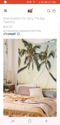 Palms Tapestry from Urban Outfitters Washington