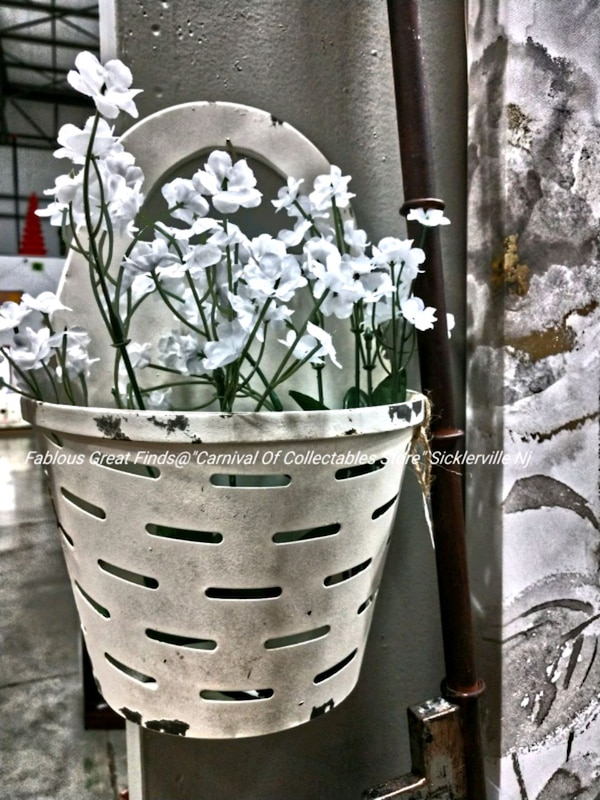 Antique White Distressed Wall Decor Floral Include