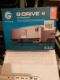 G-Technology 6TB G-Drive with Thunderbolt 3