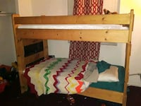 Solid Wood Bunk Bed. North Las Vegas, 89030