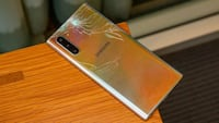 If your Note 10 is cracked from the back, dont worry!