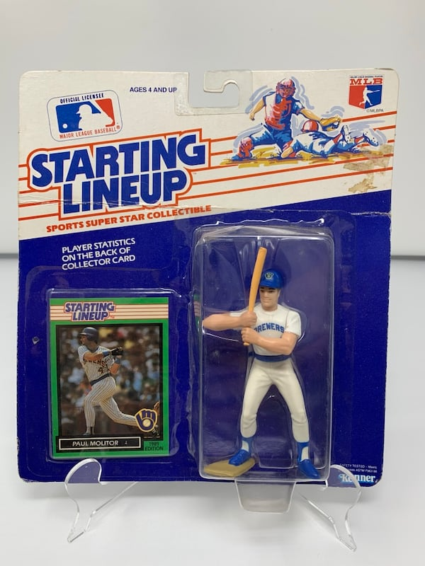 Vintage Milwaukee Brewers Starting Lineup Action Figures (1) [Brand New] 283071ec-bf7a-4945-aadc-9ecd929d9a95