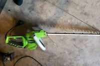 green works hedge trimmer  St. Thomas, N5P 4K3