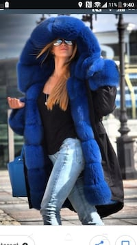 Parka with real fur Toronto, M9M 0A3