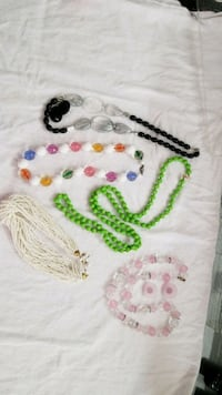 Costume Necklaces (two with matching earrings) Takoma Park, 20912