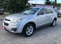 2011 Chevrolet Equinox LS/Comes Certified/Automatic/4 Cylinder Scarborough, ON M1J 3H5, Canada