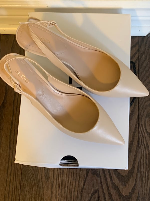 Brand new nude heels - size 6  1