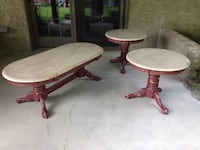 Restored shabby chic antique looking coffee table Elkton, 21921