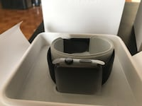 Apple Watch 2 42mm Black Stainless Steel Case Sport Band Black Athens, 11632