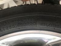 black car tire with silver rim Norfolk, 23503