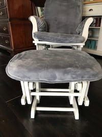 gray and white glider chair Baltimore, 21220