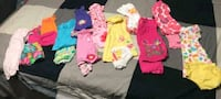 Total of 12 summer outfits for girls, size 18 mtns Mississauga, L5J 4K9