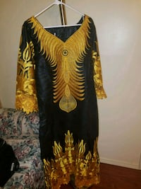 Women african long dress Stone Mountain, 30083