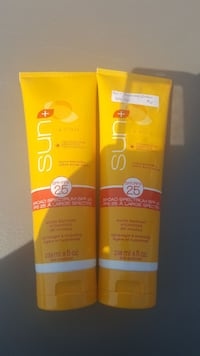 Sunscreen Lotion.  Used a few times. Edmonton, T6M 2G7