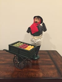 Byers' Choice Caroler - Man w/ Apple Cart Sykesville, 21784