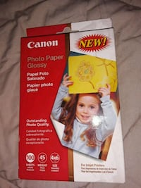 "CANON Glossy Photo Paper for inkjet printers 100 sheets 4x6"" Omaha, 68104"