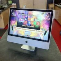 21.5 inch Apple iMac 16 gb RAM 500gb hard Big Screen $490