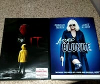 *BRAND NEW DVD'S INCLUDING IT AND ATOMIC BLONDE... Victoria, 77904