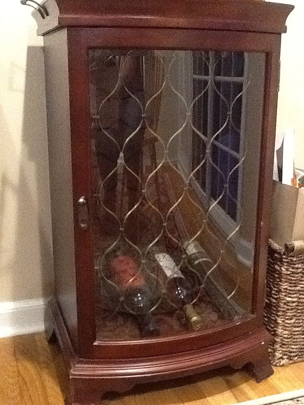 Used Bombay Company wooden wine rack for sale in Scotch ...