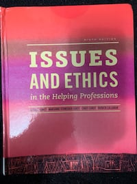 Issue and Ethics in the Helping Profession TEXTBOOK NO MARKINGS Toronto, M5K 2A1