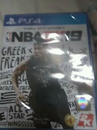 PS4 NBA 2K19 Game and case Richmond, 23234