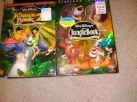 Jungle book and jungle book 2  Valdosta, 31602