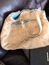 brown monogrammed Coach leather hobo bag Oxford, 36203