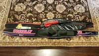 black and red water ski with case Billerica, 01862