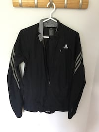 Black and white zip-up jacket Longueuil, J3Y