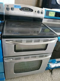 Maytag stainless steel double oven electric stove Baltimore, 21223